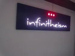 Acrylic LED Light Sign Board
