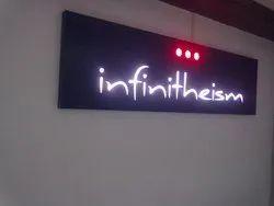 Acrylic LED Light Sign Board