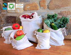 Organic Cotton Veg Bag