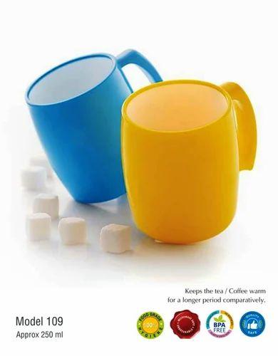 Plastics Coffee Mug-BPA Free-MUG-106,  for Home
