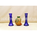 Glass More Color Available Flower Vase, Size: More Size Available