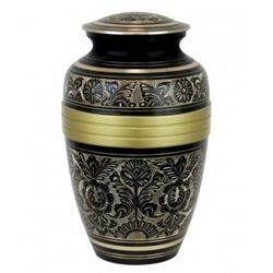 Gold And Black Classic Urn