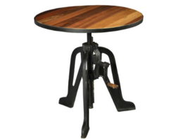 Stryker Cafe Bar Crank Table