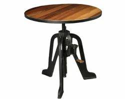 Stryker Cafe Bar Crank Table