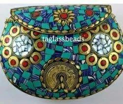 Firoza Mozaik Isleri Cuzoanlal Metal Bag
