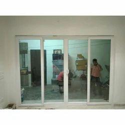 White 4 Track UPVC Sliding Doors