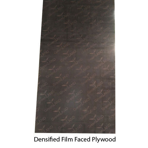 RUBBERWOOD RED GREENLAND Film Faced Plywood DENSIFIED, for SHUTTERING, Thickness: 4 to 40 mm