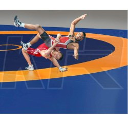 Wrestling Mat Complete with Regular Thickness Competition