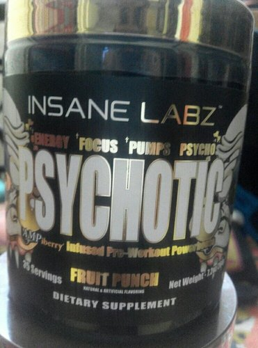 Insane Labz Psychotic Gold Pre Workout Pre Workout Supplement