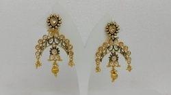 Fancy Stone Earring
