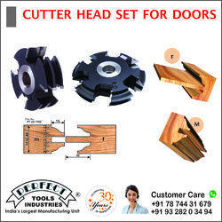 CUTTER HEAD SET FOR DOORS