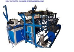 Fully Automatic Single Wire Chain Link Fence Machine