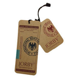 Hard Paper Printed Hang Tags