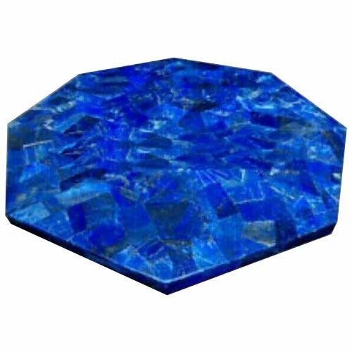 Amazing Hexagon Marble Inlay Table Top