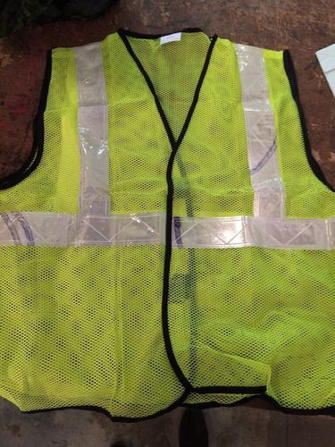 Polyester Reflective Jacket Mesh Type With 2 Inch Tape