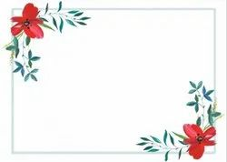Digital and Offset Paper Invitation Card Printing Service, in Local