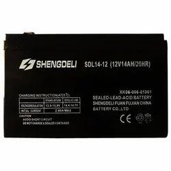 Shengdeli Sealed Lead Acid Battery 12 V 14 Ah