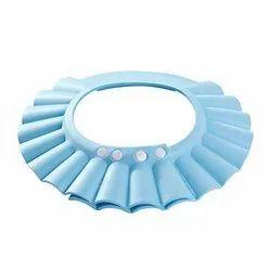 PVC Multicolor Baby Shower Cap New Soft Bathing Baby Wash Hair Eye Ear Protector