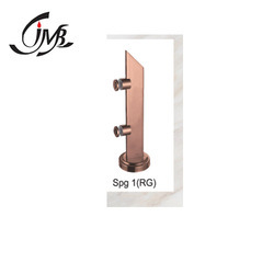 Rose Gold Finish Stainless Steel Railing Spigot, JMB-SPG-1(RG) 12inch