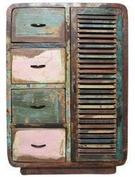 Salvage Reclaimed Timber Cabinet