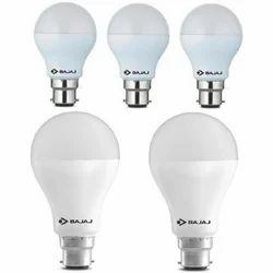 Round Ceramic Electric LED Bulb, 6 W - 10 W