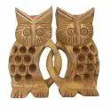 Wooden Fraindship Owl