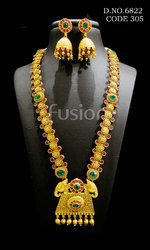 South India Jewellery Style Wedding Necklace Set