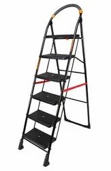 SKL 5 Step Black Iron Ladder