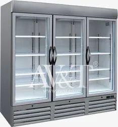 Three Door Upright Freezer Chiller
