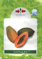 EAST-WEST SAPNA F1 HYBRID PAPAYA SEEDS, For Agriculture