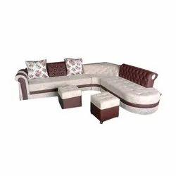 Corner L Shape Sofa Set, For Home,Hotel, Living Room
