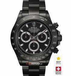 Men Analog Rolex Daytona Watch Black