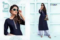 Zara-Cygnus Rayon Kurti Casual Wear Catalogue
