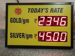 MODEL:DTS/GLD-04,Gold Rate Display Boards