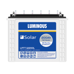 Luminous Solar Battery