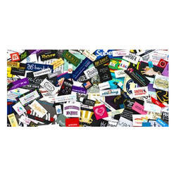 Woven Colorful Labels