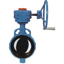 Gear Operated CI Butterfly Valve