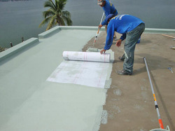 Company Roof Water Proofing Services, For Commercial, Liquid