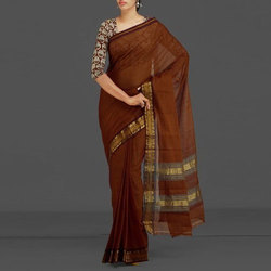 Party Wear, Wedding Wear Ladies Fashionable Saree, With Blouse