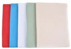 Organic Cotton Waffle Solid Dyed Fabric