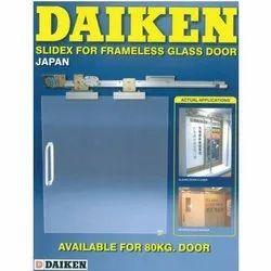 Daiken Glass Frameless Sliding Doors, For Office