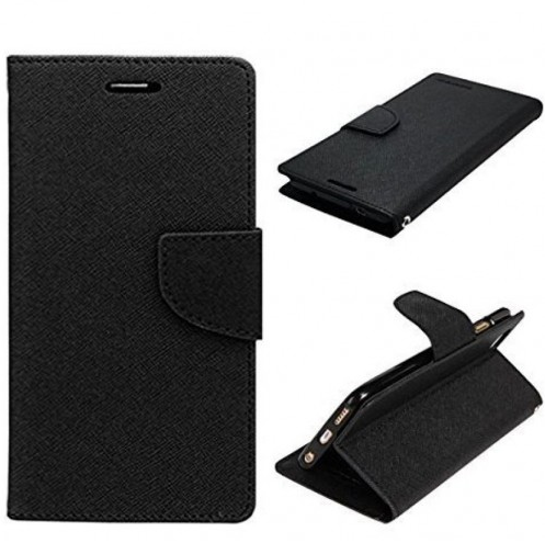best service 9c1c8 f5e24 Original Black Mercury Flip Cover, Wallet Case For Oneplus Two