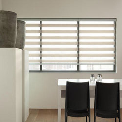 Plain Day and Night Roller Blind, Thickness: 2 mm