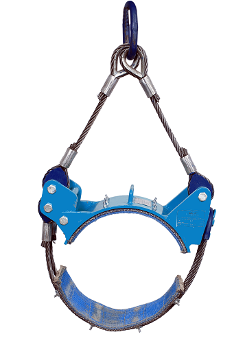 Pipe Choker Belt, Usage: Pipe Lifting In Oil & Gas Pipeline Project