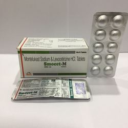 Levocetrizine 5mg Montelukast 10 mg Tablet