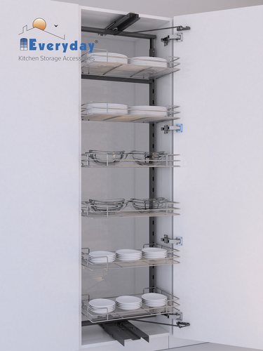 Everyday Wire Base Vertical Storage Tandem Pantry Pull