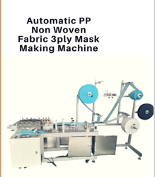 Blumac Disposable Face Mask Making Machine