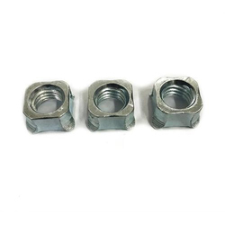 Galvanized Square Weld Nut, Box, Size: 6 Mm To 12 Mm