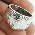 Beauty Queen Sterling Silver Ring