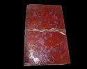 Vintage Brown Embossed Leather Diary